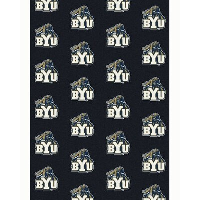 Collegiate II Brigham Young University Cougars Rug Size: 109 x 132