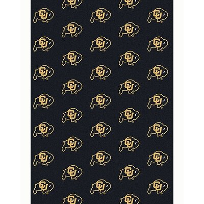 Collegiate II Colorado Buffaloes Rug Size: 109 x 132