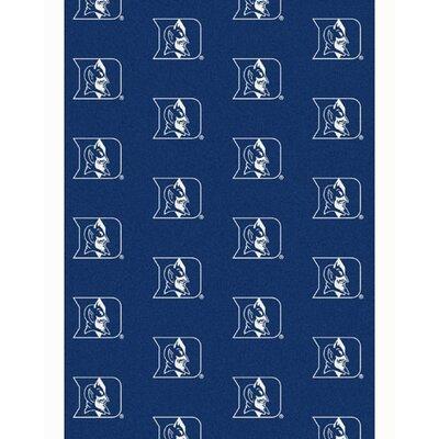 Collegiate II Duke Blue Devils Rug Size: 78 x 109