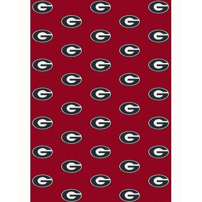 Collegiate II Georgia Bulldogs Rug Size: 54 x 78