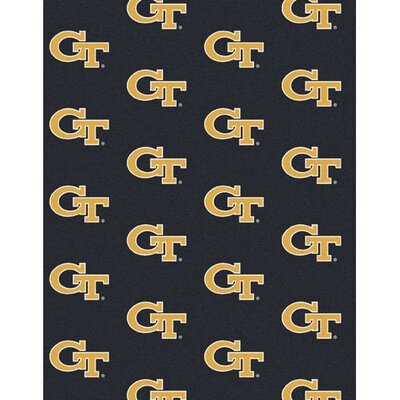 Collegiate II Georgia Tech Yellow Jackets Rug Size: 54 x 78