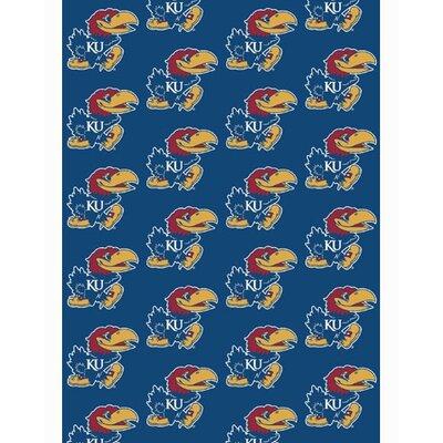 Collegiate II Kansas Jayhawks Rug Size: 54 x 78