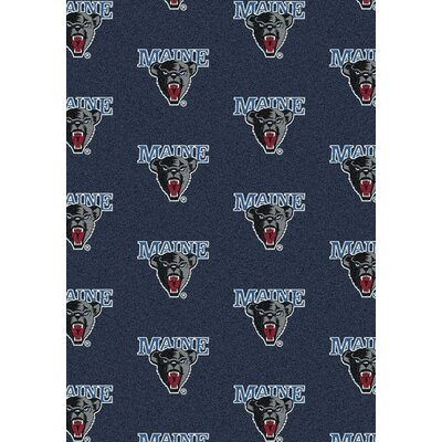 Collegiate II Maine Black Bears Rug Size: 109 x 132