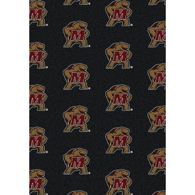 College Repeating NCAA Maryland Novelty Rug