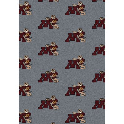 NCAA Team Repeating Novelty Rug NCAA Team: University of Minnesota