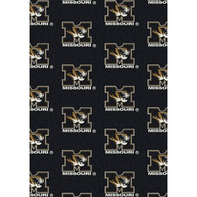 NCAA Team Repeating Novelty Rug NCAA Team: University of Missouri