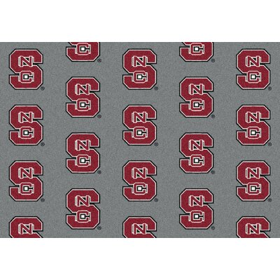 College Repeating NCAA North Carolina State Novelty Rug