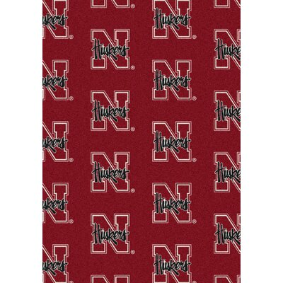 NCAA Team Repeating Novelty Rug NCAA Team: University of Nebraska