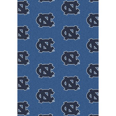 College Repeating NCAA North Carolina Novelty Rug