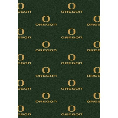 NCAA Team Repeating Novelty Rug NCAA Team: University of Oregon