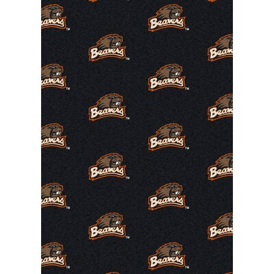 College Repeating NCAA Oregon State Novelty Rug