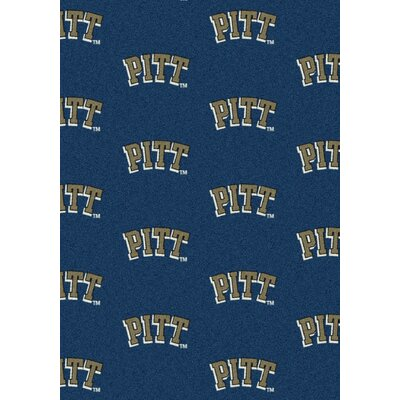 College Repeating NCAA Pittsburgh Novelty Rug