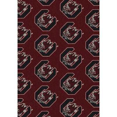 College Repeating NCAA South Carolina Novelty Rug