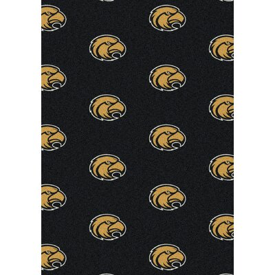 College Repeating NCAA Southern Mississippi Novelty Rug