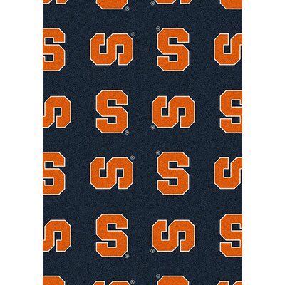 NCAA Team Repeating Novelty Rug Rug Size: Rectangle 109 x 132, NCAA Team: Syracuse