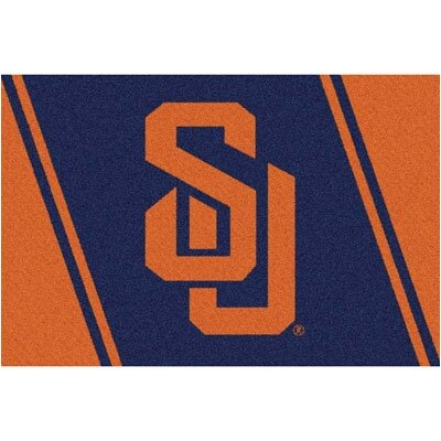 Collegiate Syracuse University Mat Rug Size: 3'10