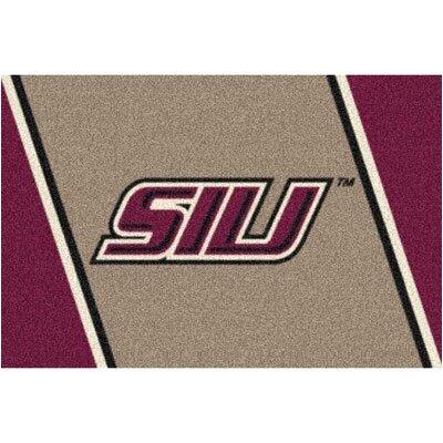 Collegiate Southern Illinois University Salukis Mat Rug Size: 28 x 310
