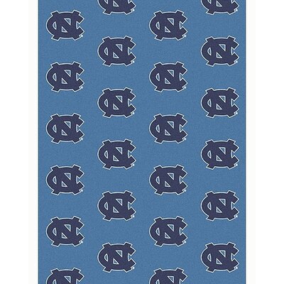 Collegiate II North Carolina Tarheels Rug Size: 78 x 109