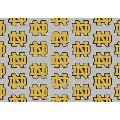 Collegiate II Notre Dame Fighting Irish Rug Size: 109 x 132