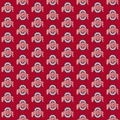 Collegiate II Ohio State Buckeyes Rug Size: 109 x 132