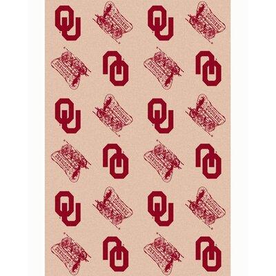 Collegiate II Oklahoma Sooners Rug Size: 109 x 132