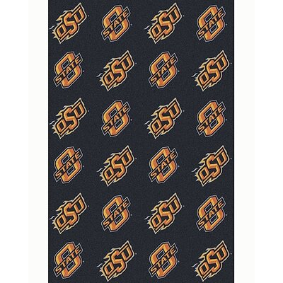 Collegiate II Oklahoma State Cowboys Rug Size: 109 x 132
