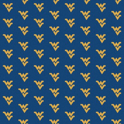Collegiate II West Virginia Mountaineers Rug Size: 109 x 132