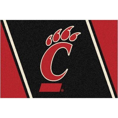 Collegiate University of Cincinnati Bearcats Mat Rug Size: 54 x 78