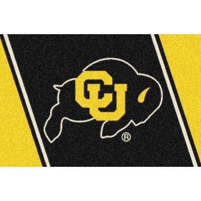 Collegiate University of Colorado Buffaloes Mat Rug Size: 28 x 310