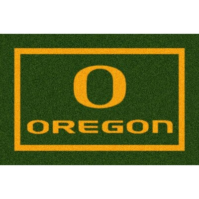 Collegiate University of Oregon Ducks Mat Rug Size: 54 x 78