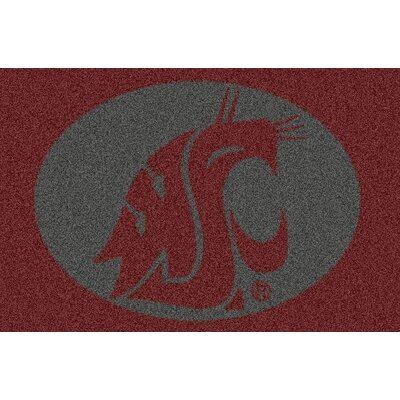 Collegiate Washington State University Doormat Mat Size: Rectangle 28 x 310
