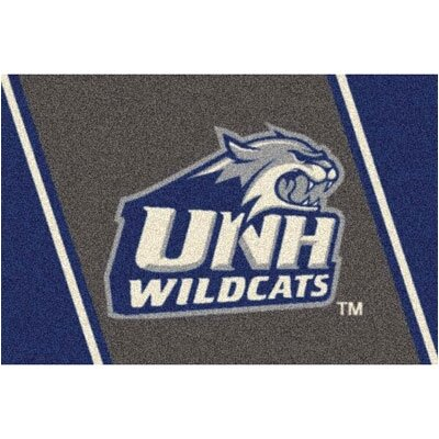 Collegiate University of New Hampshire Wildcats Mat Rug Size: 28 x 310