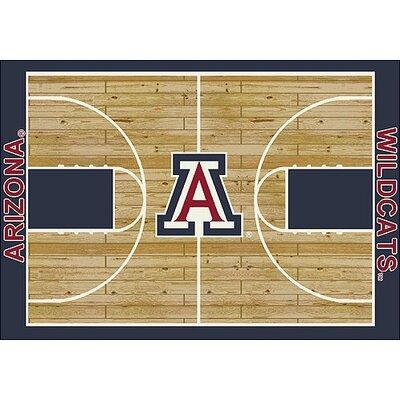 NCAA College Home Court Arizona Novelty Rug Rug Size: 310 x 54