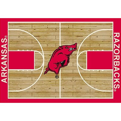 NCAA College Home Court Arkansas 310 x 54 Novelty Rug