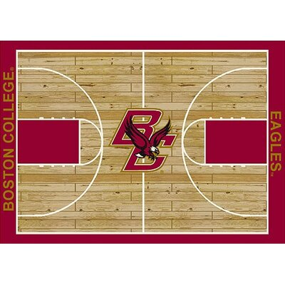 NCAA College Home Court Boston College Novelty Rug Rug Size: 109 x 132