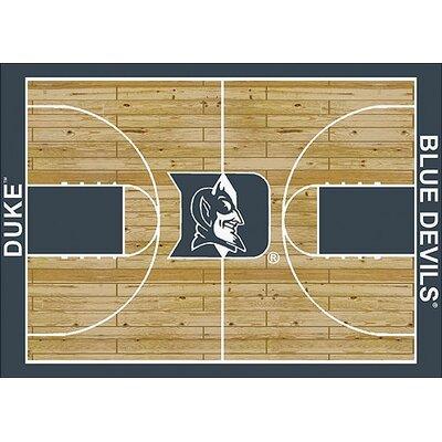 NCAA College Home Court Duke Novelty Rug Rug Size: 109 x 132