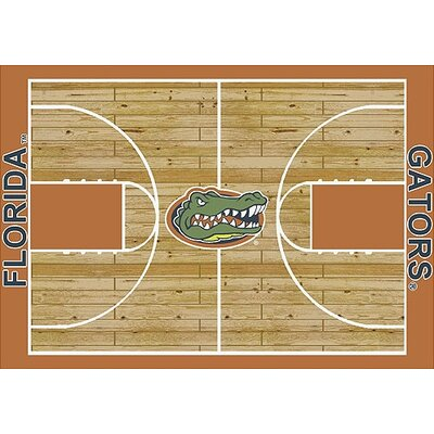NCAA College Home Court Florida Novelty Rug Rug Size: 109 x 132