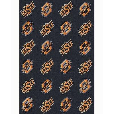 NCAA Collegiate II Oklahoma State Novelty Rug Rug Size: 109 x 132