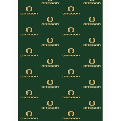 NCAA Collegiate II Oregon Novelty Rug Rug Size: 78 x 109