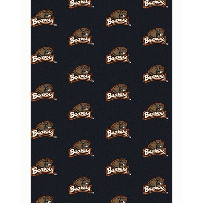 NCAA Collegiate II Oregon State Novelty Rug Rug Size: 78 x 109