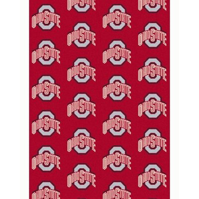 NCAA Collegiate II Ohio State Novelty Rug Rug Size: 78 x 109