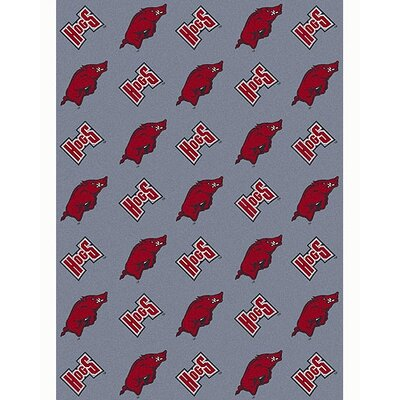 NCAA Collegiate II Arkansas Novelty Rug Rug Size: 54 x 78