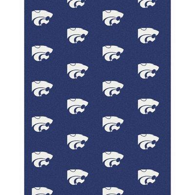 NCAA Collegiate II Kansas State Novelty Rug Rug Size: 78 x 109