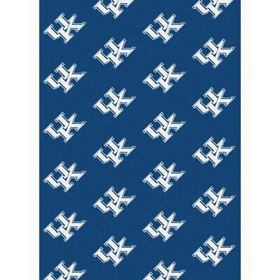 NCAA Collegiate II Kentucky Novelty Rug Rug Size: 109 x 132