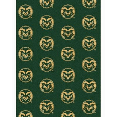 NCAA Collegiate II Colorado State Novelty Rug Rug Size: 78 x 109