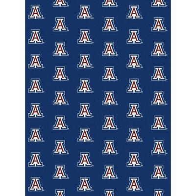 NCAA Collegiate II Arizona Novelty Rug Rug Size: 109 x 132