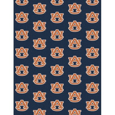 NCAA Collegiate II Auburn Novelty Rug Rug Size: 109 x 132