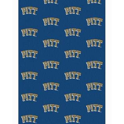 NCAA Collegiate II Pittsburgh Novelty Rug Rug Size: 78 x 109