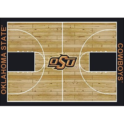 NCAA College Home Court Oklahoma State Novelty Rug Rug Size: 78 x 109
