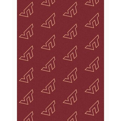 NCAA Collegiate II Virginia Tech Novelty Rug Rug Size: 78 x 109